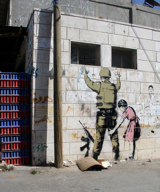 Banksey photo from Santas Ghetto